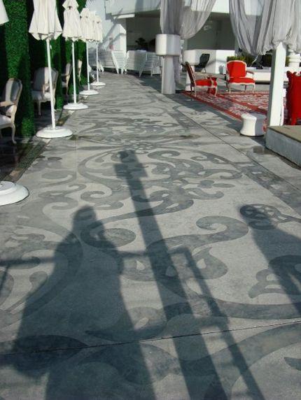 Sandblasted Concrete Paving Paving Pinterest Miami