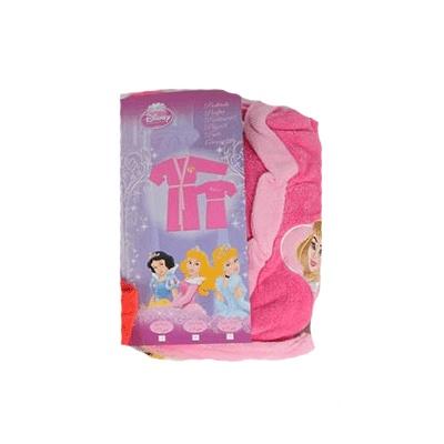 Badjas princess Disney. Leuke badjas van princess van Disney voor kinderen. Roze prinses badjas met aan de voorzijde een princess en op de achterzijde de tekst Clubhuis.  € 14.95