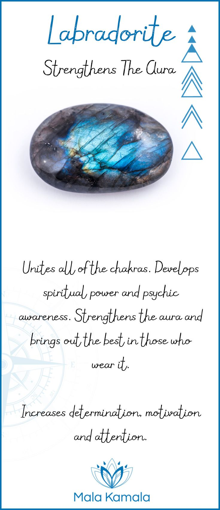 What is the meaning and crystal and chakra healing properties of labradorite? A stone for strengthening the aura.