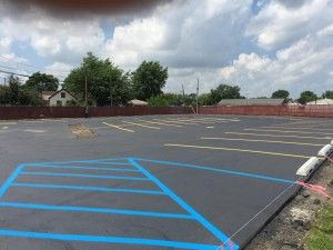 Parking lot striping takes place in the parking spot which help people to park their vehicles in the parking spot. Seal the way is the asphalt paving company in Indiana which provides the services of repair of parking.