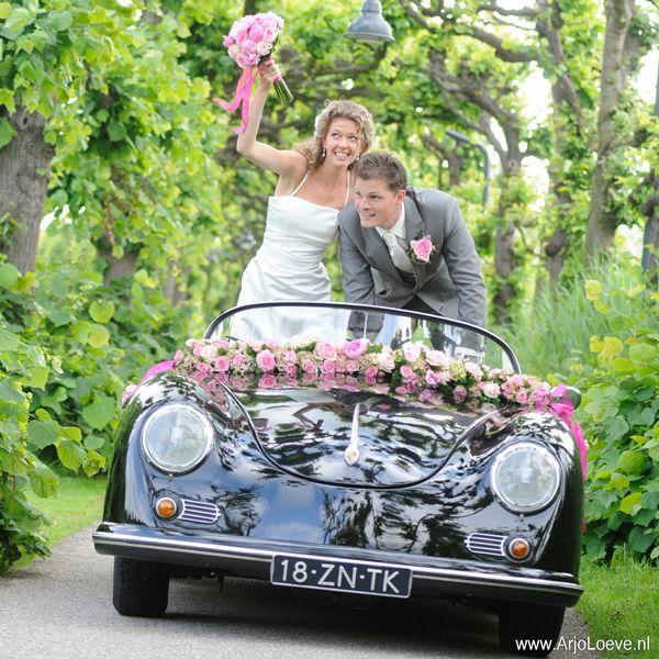 Porsche 356 Speedster te huur voor uw bruiloft