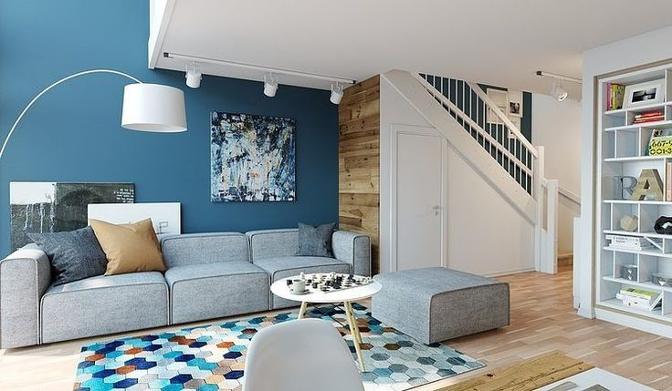 Cool and Relaxing, Apartment in Oslo by Archiforms Studio. Get inspired for your next Carpet Guys project. http://www.carpetguys.com/