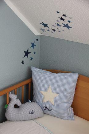 Fabulous Andrea hat unsere Klebefolien Sterne f r Bela versetzt an die Wand im Kinderzimmer angebracht Wir