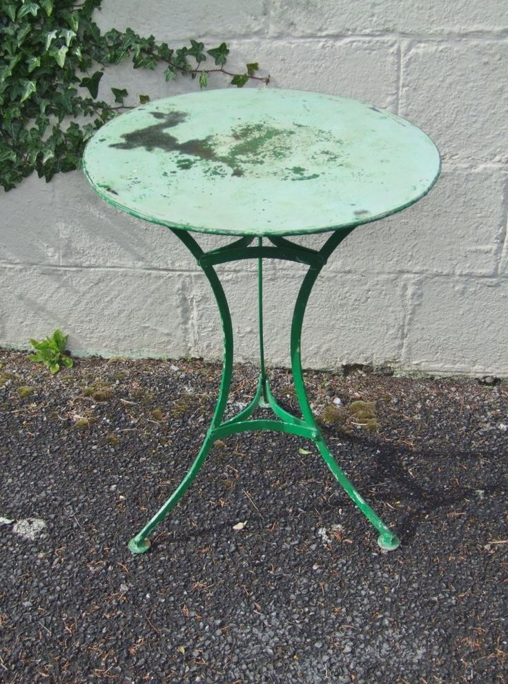 best French Bistro Furniture LOVE IT!  on Pinterest