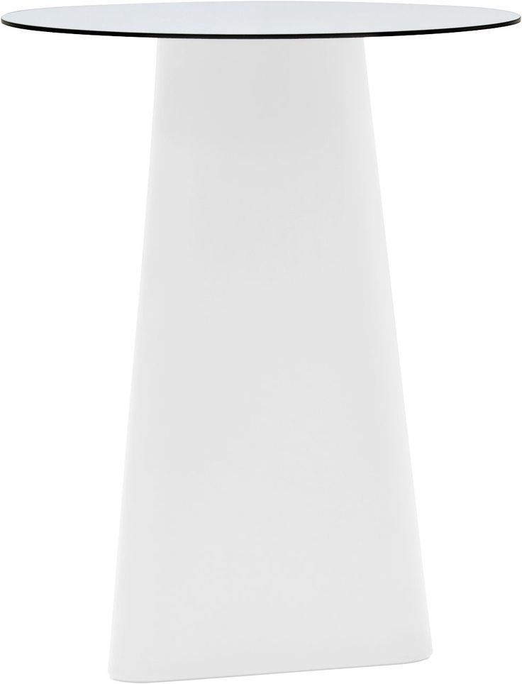 Tavolo alto Adam Ø 80 cm Bianco design Matteo Redaelli | Andrea Garuti | Manuela Busetti for B-LINE