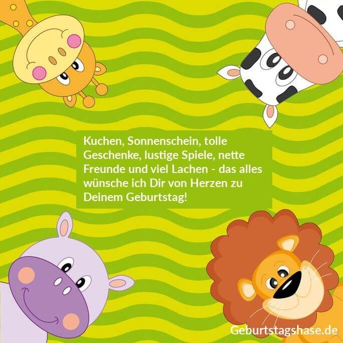 16 Einladungskarten Zum Kindergeburtstag Motiv Niedliche Lustige