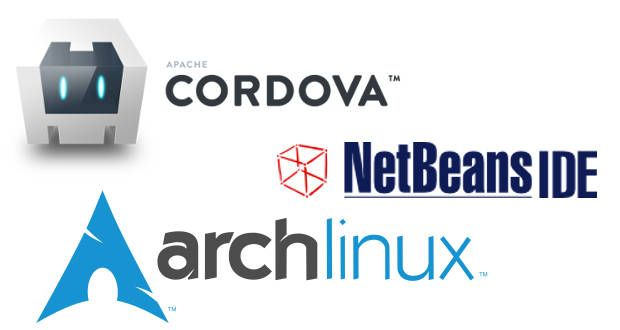 Cordova and Netbeans with Arch Linux - Out4Mind