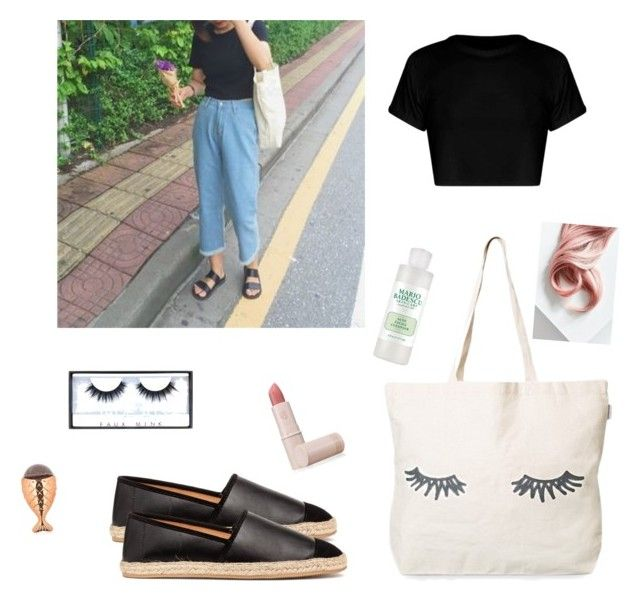 """""""Untitled #11"""" by sarah-rose-tomberlin on Polyvore featuring Lipstick Queen, Huda Beauty and Lime Crime"""