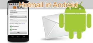 Setup your Hotmail Account on Android and iPhone - Support Contact Number Hotmail is considered as the most reliable and trustworthy email service which is widely used in the entire world. You can get perfect access to create your own email account and perform the mailing activities to communicate with your friends and relatives. This is the most favorable email service a...