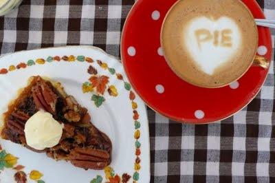 pecan pie with maple whipped cream | Yummy Food | Pinterest