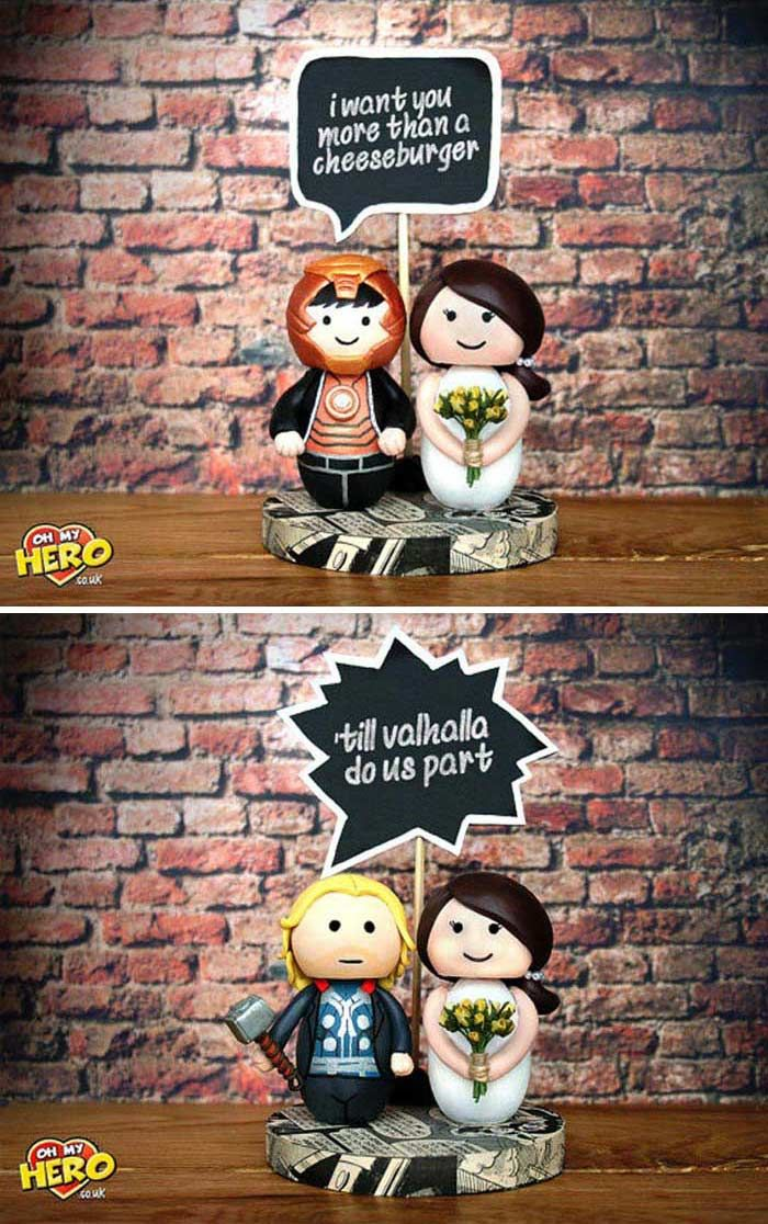 Superhero Themed Weddings Ideas For A Comic Book Obsessed