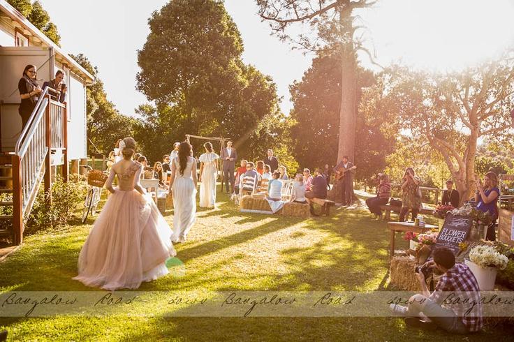 Ewingsdale hall outdoor wedding