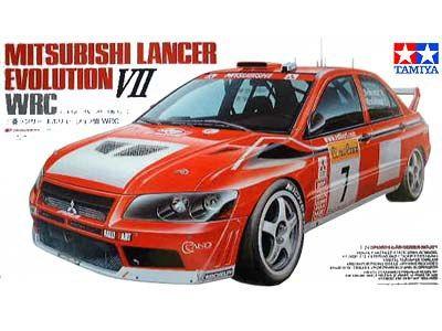 Boxart Mitsubishi Lancer Evo VII WRC 24257 Tamiya