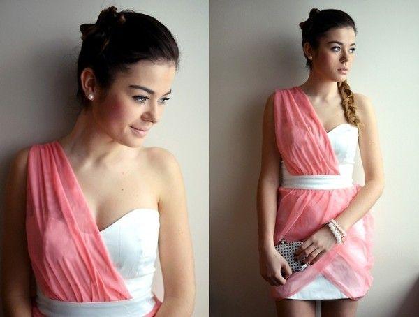 Sukienka na jedno ramię Dresstination - Dresstination