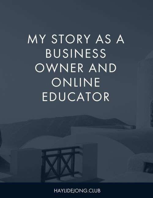 My business story | Online educator | Small Business | Business Profile | Small Business mistakes | Why am I qualified | Ebay sellers | Online course sellers | Make money online | how to make money from home |