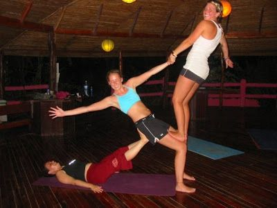 101 best images about acroyoga group poses on pinterest