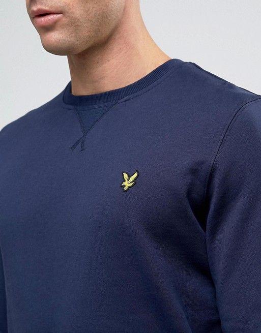 http://www.asos.fr/lyle-scott/lyle-scott-sweat-ras-de-cou-avec-logo-aigle-bleu-marine/prd/7196184?iid=7196184