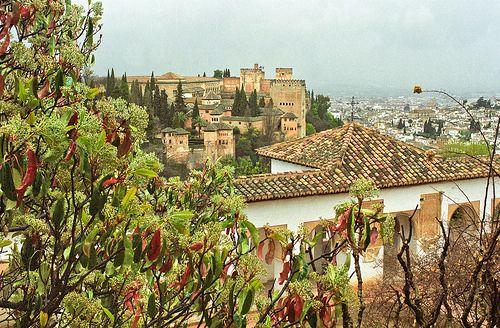 Alhambra y Generalife - Granada - Sylvain Brajeul © 2002 Oldies Scan analog photography - Nikon CoolScan V ED by Sylvain Brajeul, via Flickr...