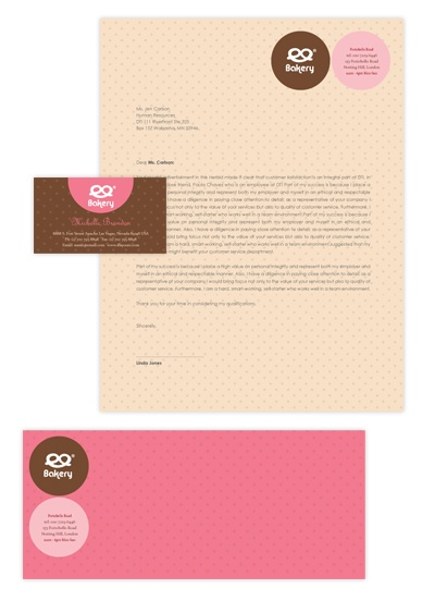 letterhead with logo template