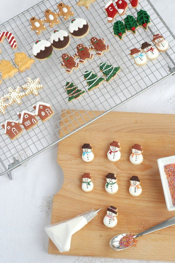 Mini Christmas Cookies