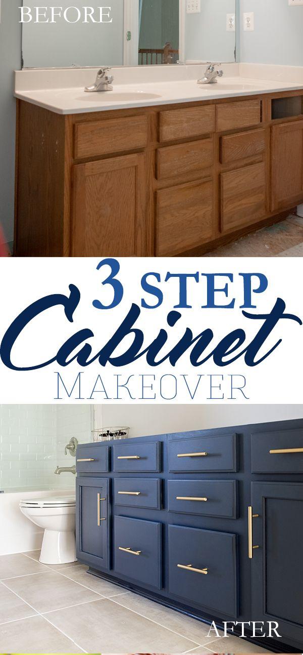 Best 25 painting bathroom vanities ideas on pinterest diy bathroom paint diy bathroom for Midnight blue bathroom vanity
