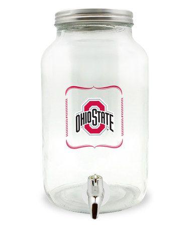Look what I found on #zulily! Ohio State Buckeyes 5-L Sun Tea Jar #zulilyfinds