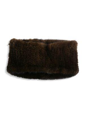 SURELL Mink Fur Headband/Collar. #surell #headband/collar