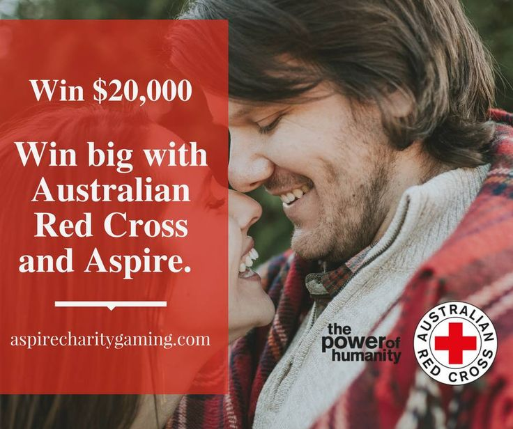 Win big with Australian Red Cross and Aspire. You have the chance of either $20,000 Cash* or paid as a VISA prepaid Card. https://aspirecharitygaming.com/australian-red-cross-34/ #charity #lottery #win #redcross