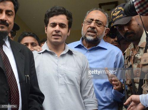 Pakistan Sindh High Court Chief Justice Sajjad Ali Shah (2R)... #portsaintpere: Pakistan Sindh High Court Chief Justice… #portsaintpere