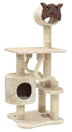 Multilevel Kitty Cat Scratching Tree