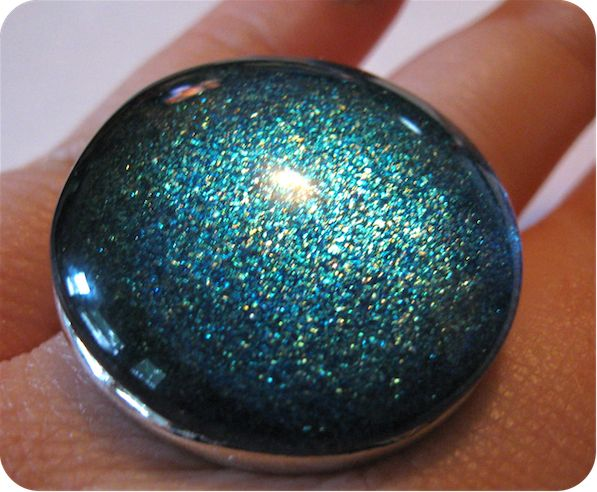 DIY Nail Polish Jewelry | Neon RattailGlasses Tile, Nail Polish, Jewelry Supplies, Diy Crafts, Magnifying Glasses, Nails Polish, Glasses Thingy, Glass Tiles, Diy Nails