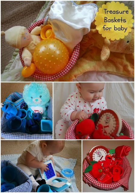 Treasure Baskets for Baby