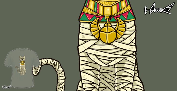 T-shirts - Design: Ancient cat - by: Harry Fitriansyah