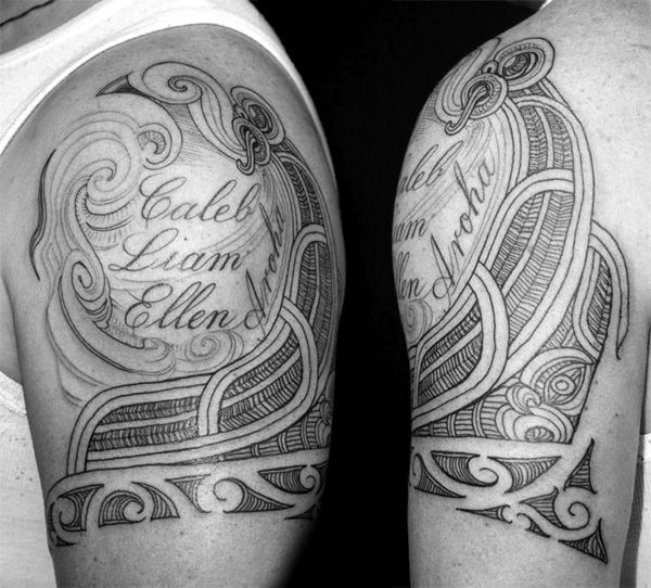 Tattoo Ideas Names On Arm: 88 Best Images About Ideas On Pinterest