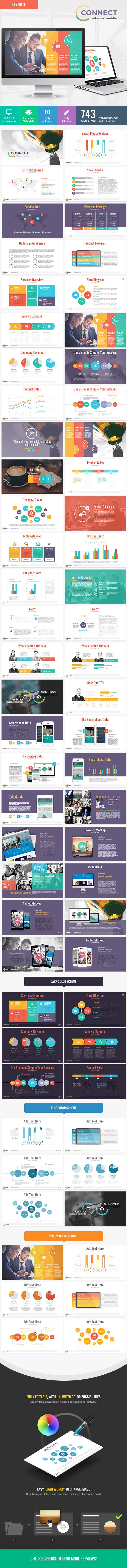 Connect - Modern Keynote Template | Download: http://graphicriver.net/item/connect-modern-keynote-template/8975842?ref=ksioks
