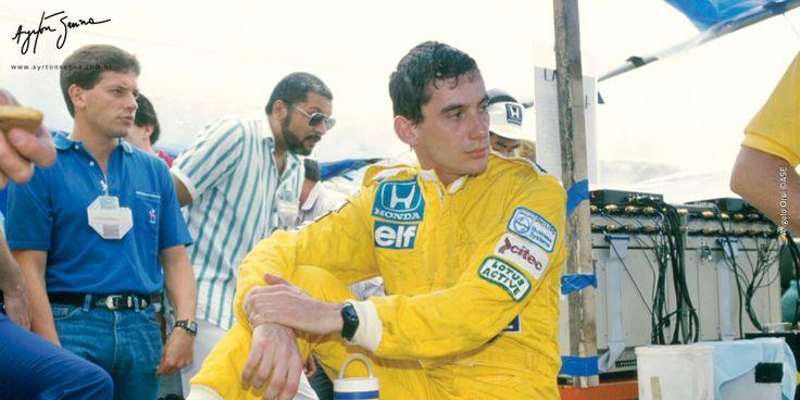 Grande Prêmio da Áustria – 1987   Ayrton Senna