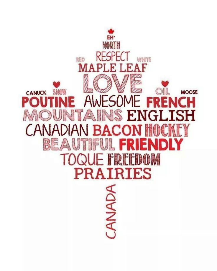 Canada - all that and so much more!