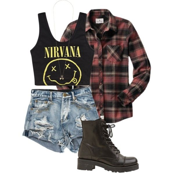 Grunge Outfits- my 14 year old self is writing a zine article about how this makes her feel like punching someone in the mosh pit.
