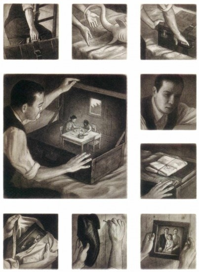 Dear Dad...Looking at these images reminds me of you & your great work. Shaun Tan - The Arrival 2