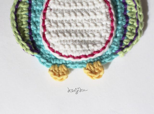 KENJIKU let the crochet talk: Little Penguin
