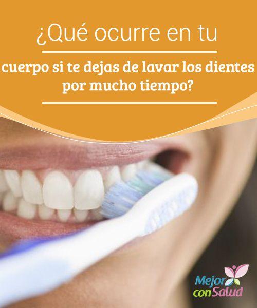 ¿Qué ocurre en tu cuerpo si te dejas de lavar los dientes por mucho tiempo? Además del mal aliento y la proliferación de caries, la falta de higiene dental puede llegar a hacer que se afloje la mandíbula y se caigan los dientes