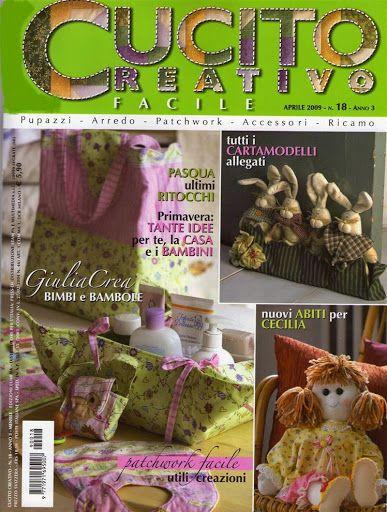 Cucito Creativo Facile No. 018 - Baul Derevistas - Picasa Web Album
