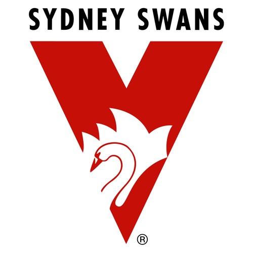 Sydney Swans emblem could put on walls or quotes from players or tattoos of players