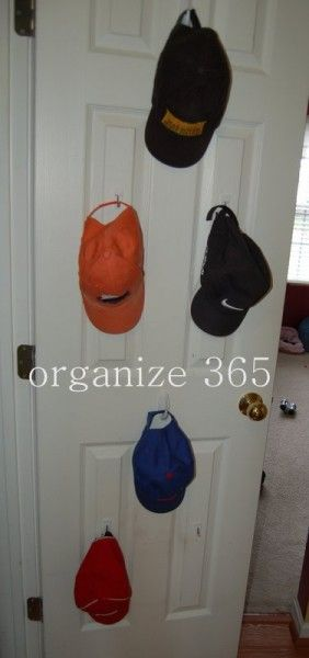 Best 25 coat closet organization ideas on pinterest for Baseball hat storage solutions