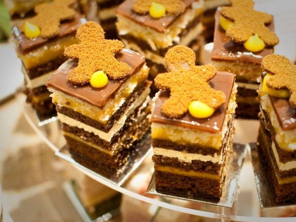 Burch and Purchese - luxurious and imaginative desserts available chapel street melbourne  Mango, milk chocolate, ginger cake