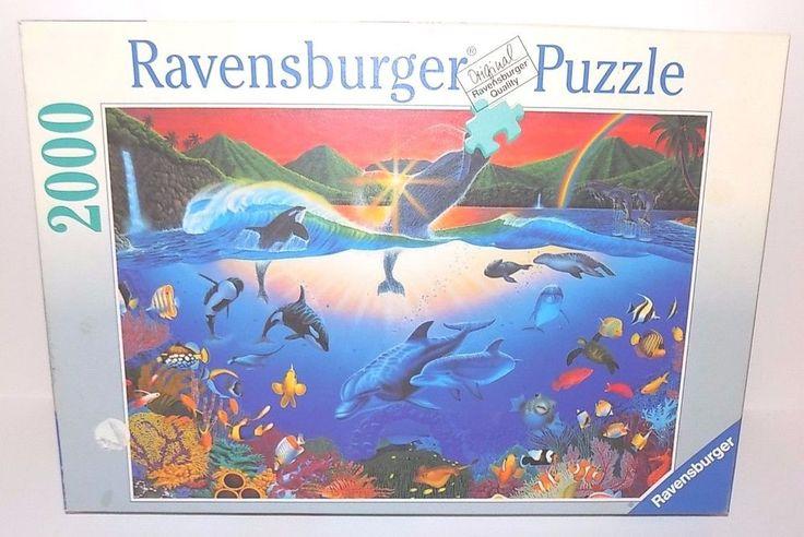 Ravensburger Jigsaw Puzzle 2000 Piece Water Planet (1998) 98 x 75 cm 4005556166084 | eBay