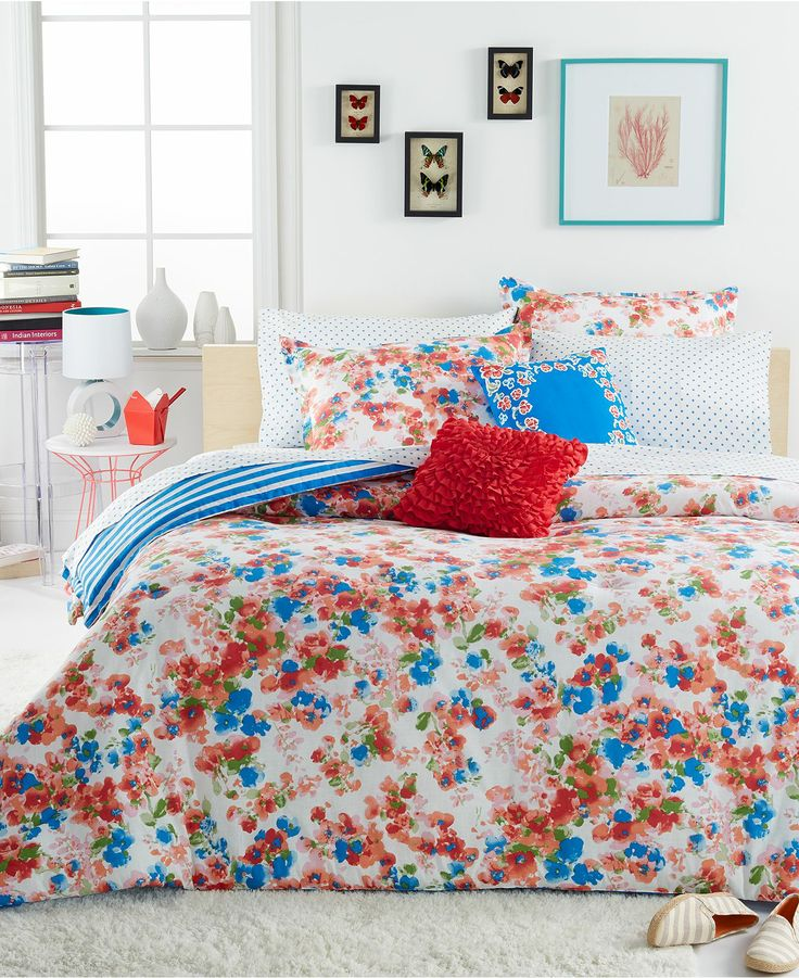 Teen Vogue Rosie Posie Comforter Sets Teen Bedding Bed