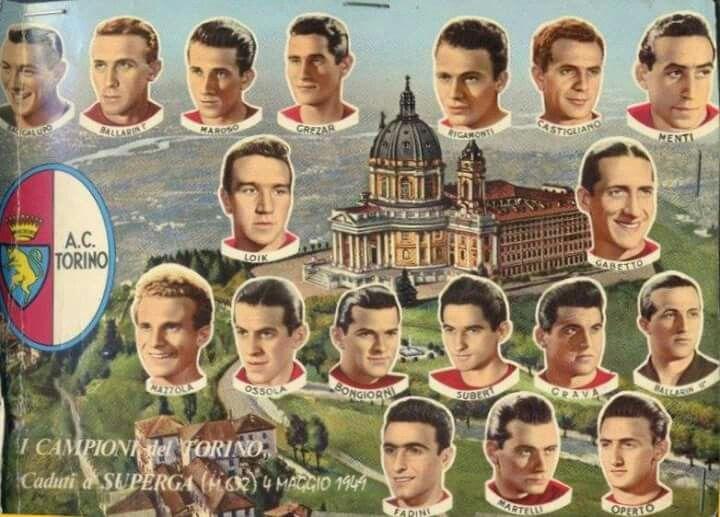 Torino calcio Tragedia del 1949