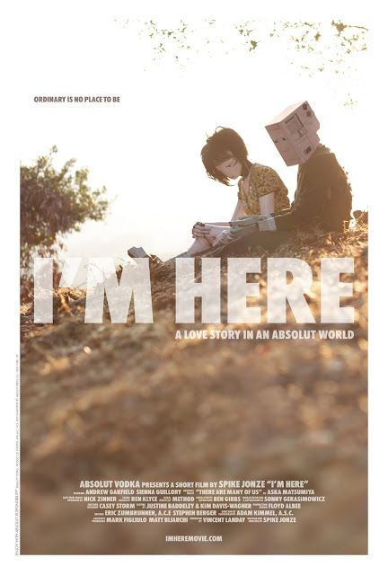 """I'm Here"" Spike Jonze"
