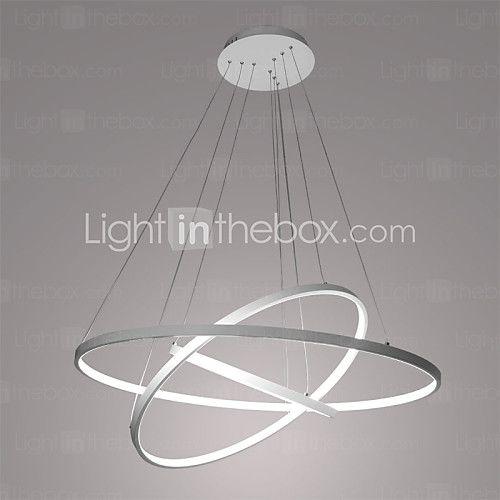 90W Contemporaneo LED Metallo Luci Pendenti Salotto / Sala da pranzo / Sala studio/Ufficio / Camera dei bambini / Stanza dei giochi - EUR €280.27